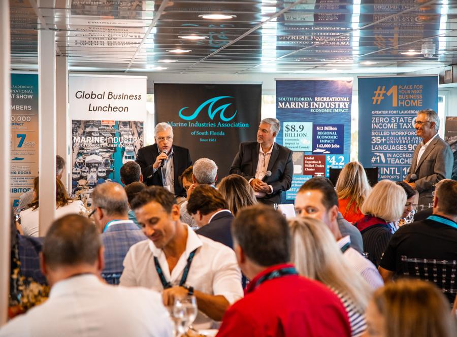 FLIBS Events Onboard the MIASF Hospitality Lounge
