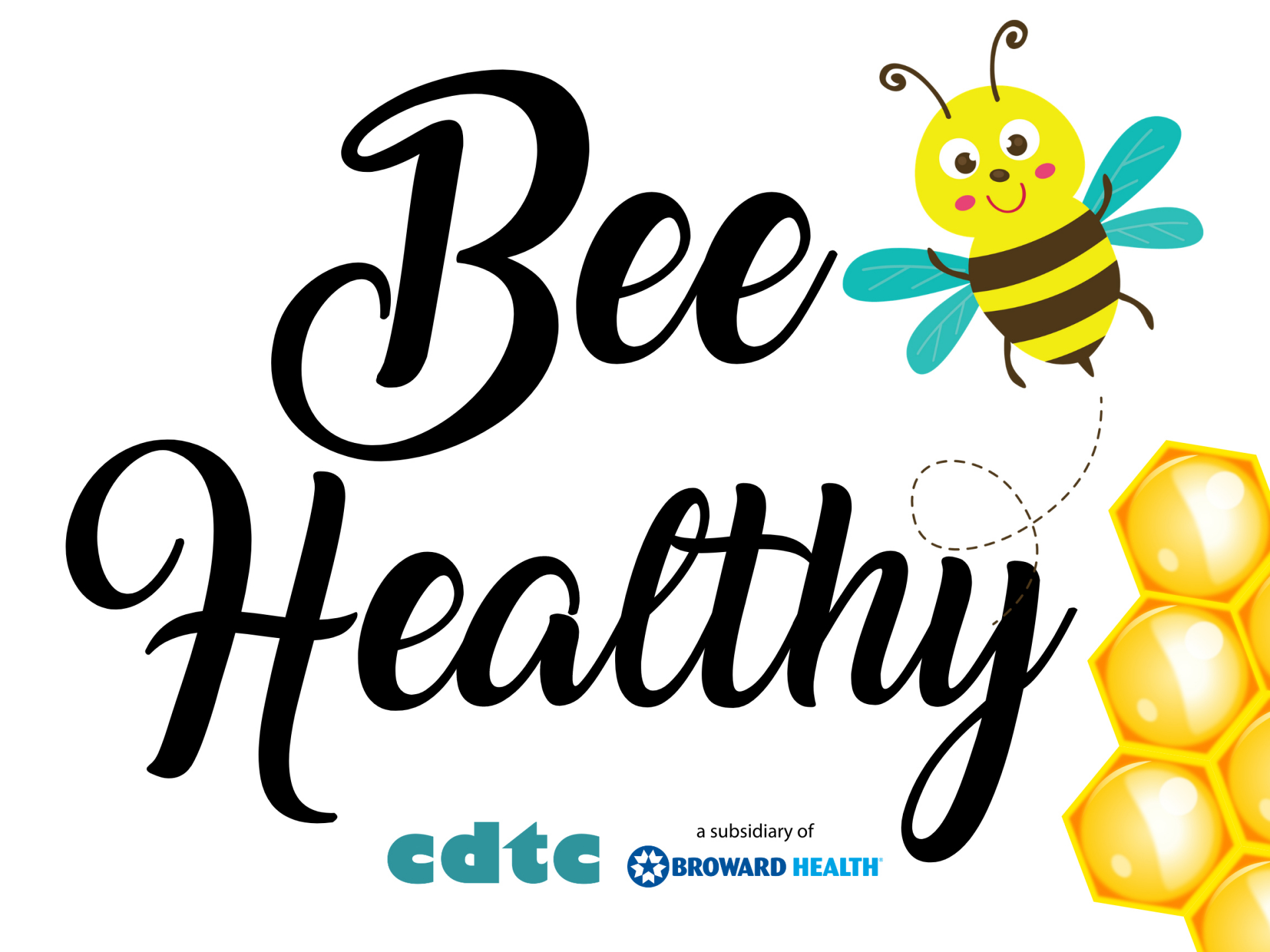Bee Healthy Food Drive to Support CDTC
