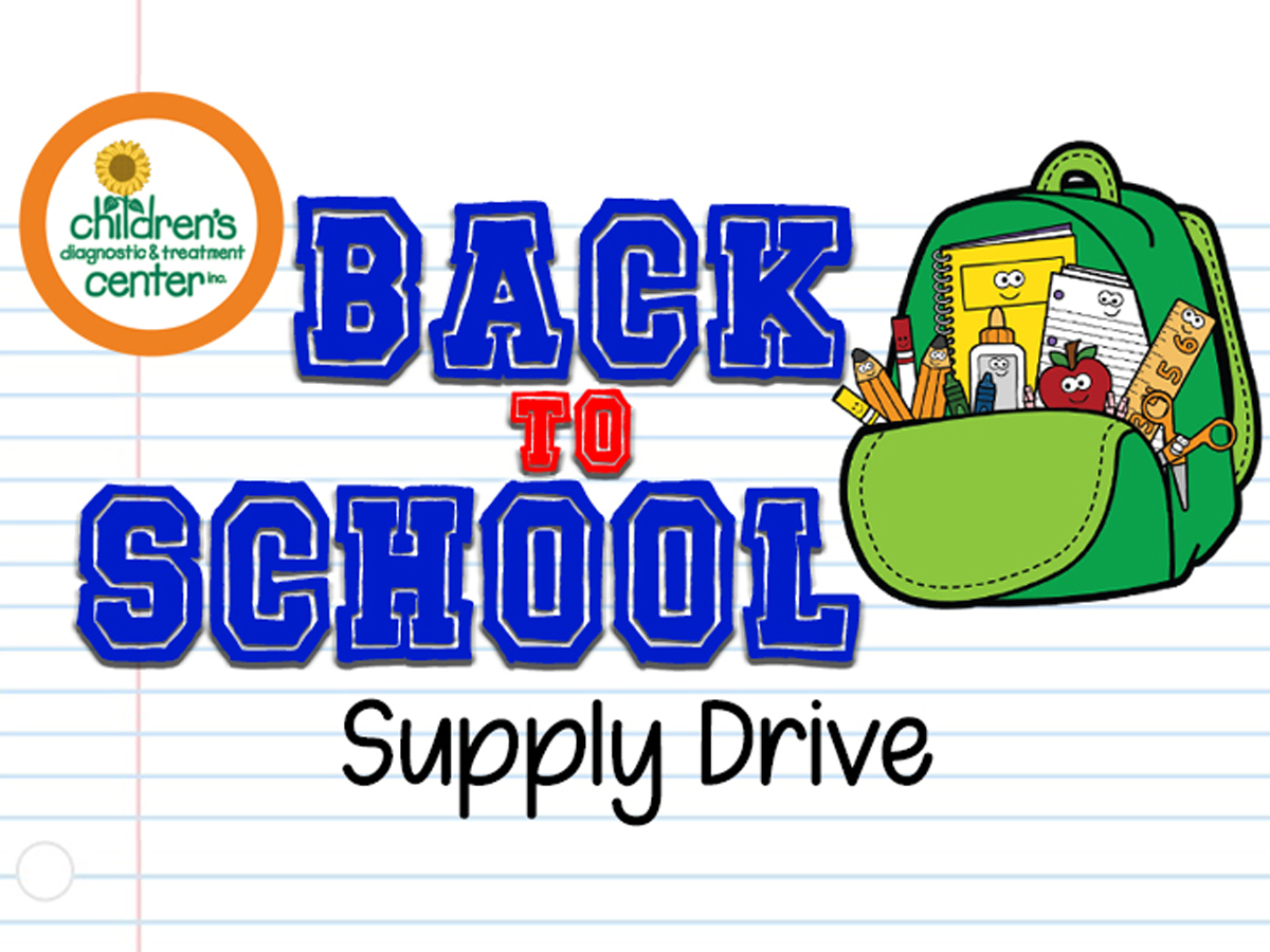 CDTC Back-to-School Supply Drive