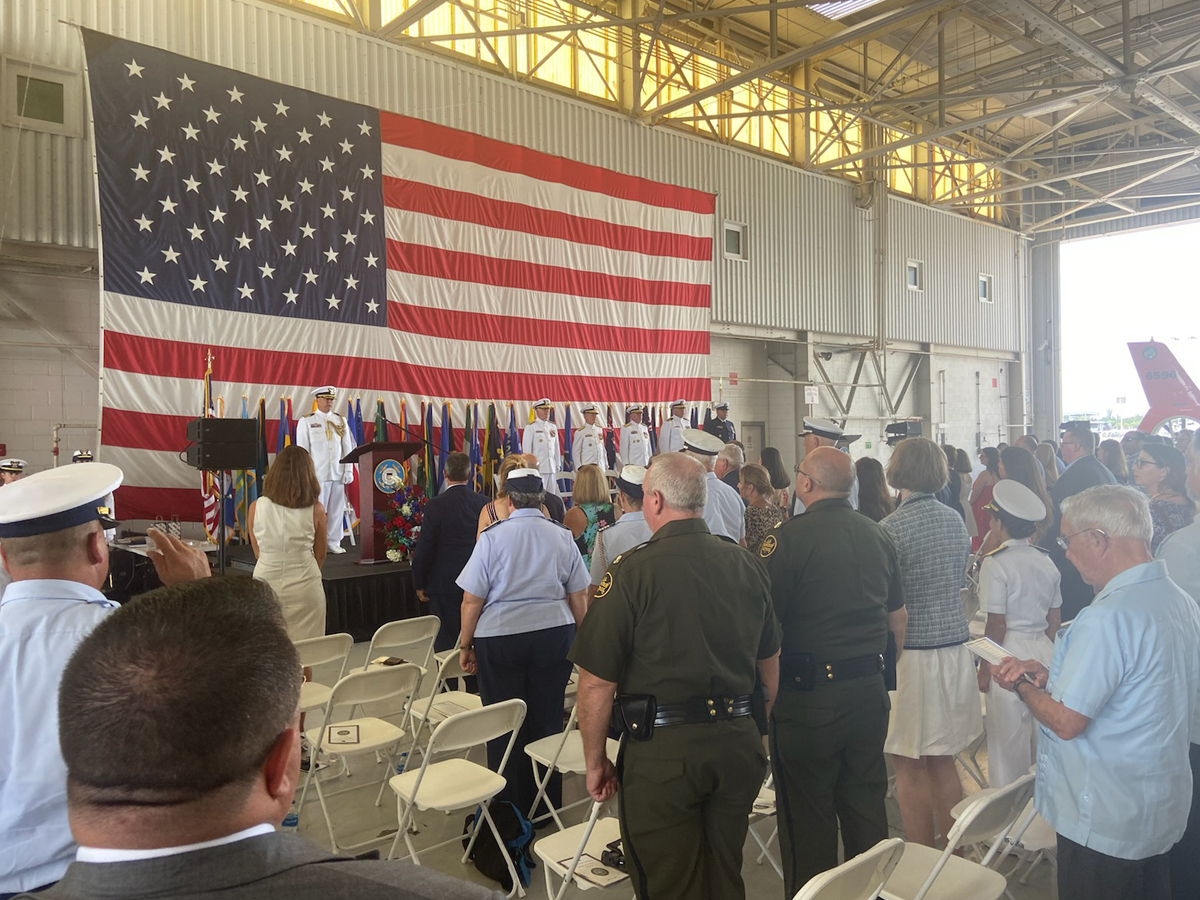 Coast Guard Seventh District Change of Command