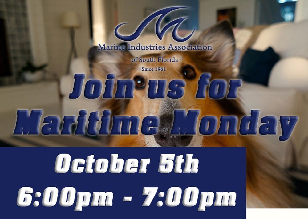 Upcoming Event - Maritime Monday