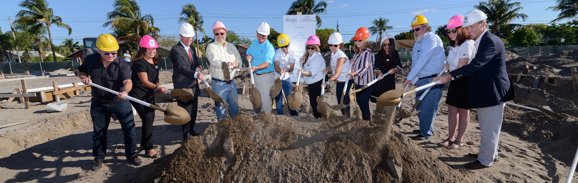 Habitat for Humanity Ground Breaking
