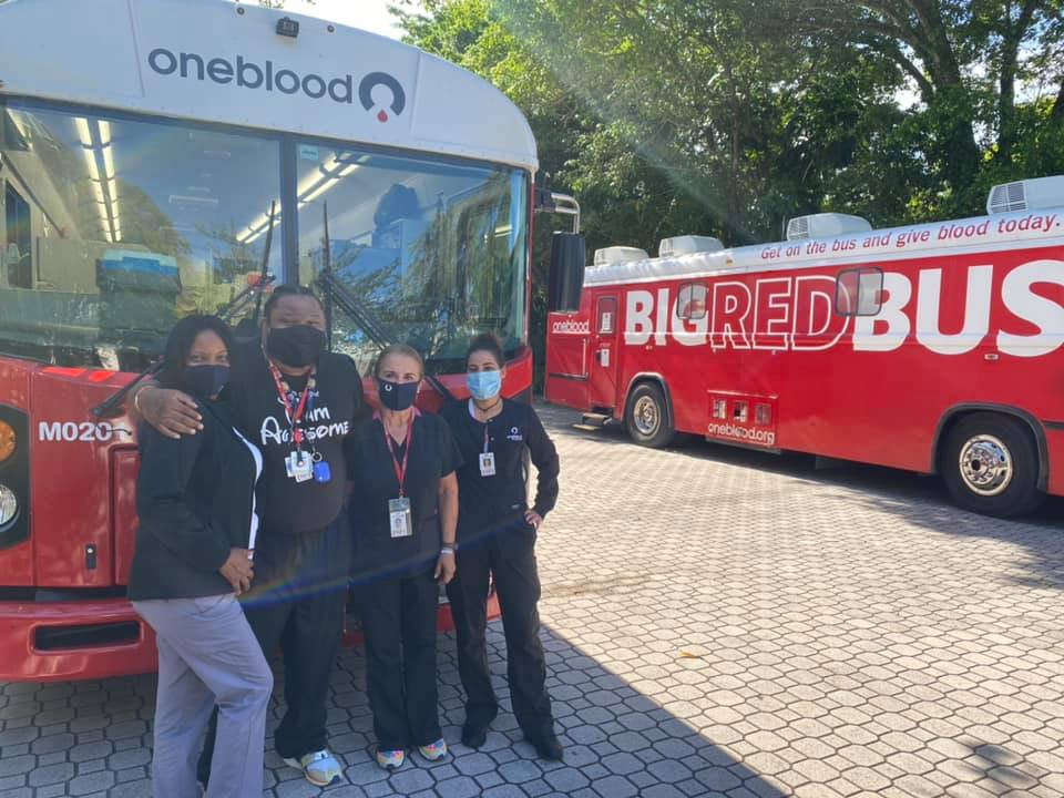 Past Event: OneBlood Blood Drive and CDTC Food Drive