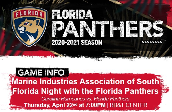 Upcoming Events: Cardboard Regatta & Night with the Florida Panthers!