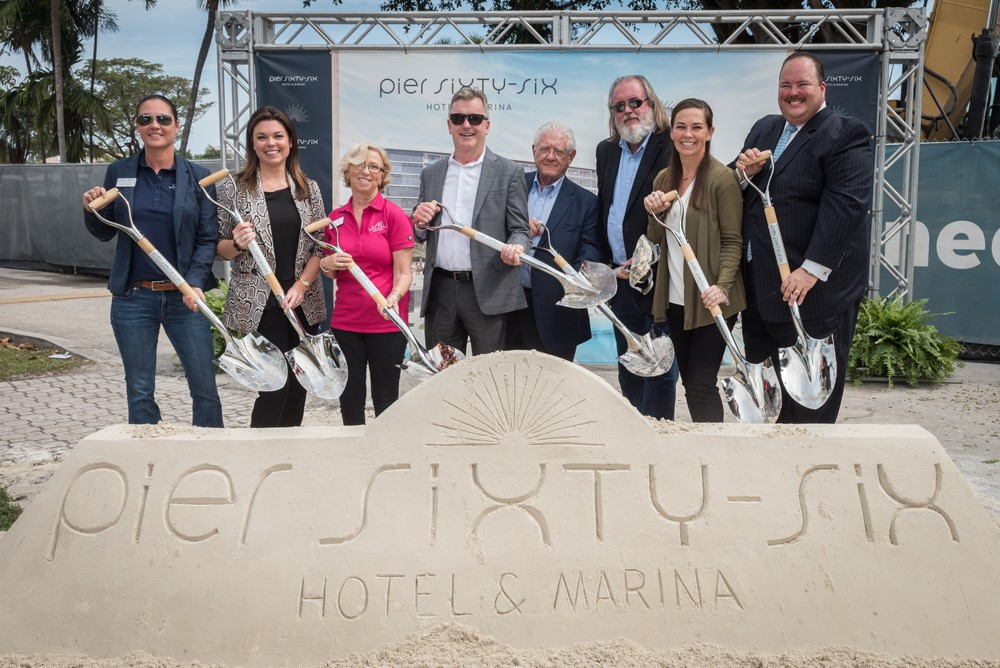 Past Event - Pier Sixty-Six Ground Breaking