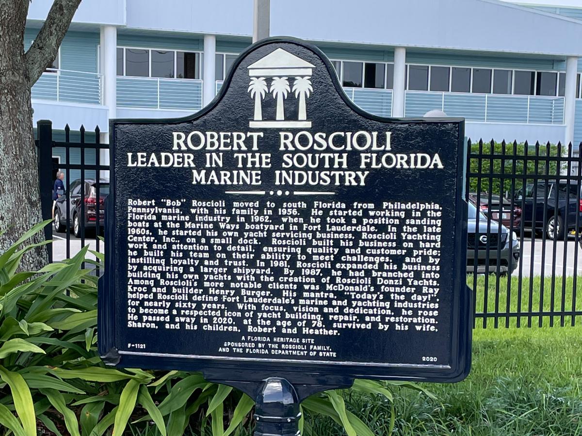 Member News: Historical Marker Unveiled Honoring Bob Roscioli