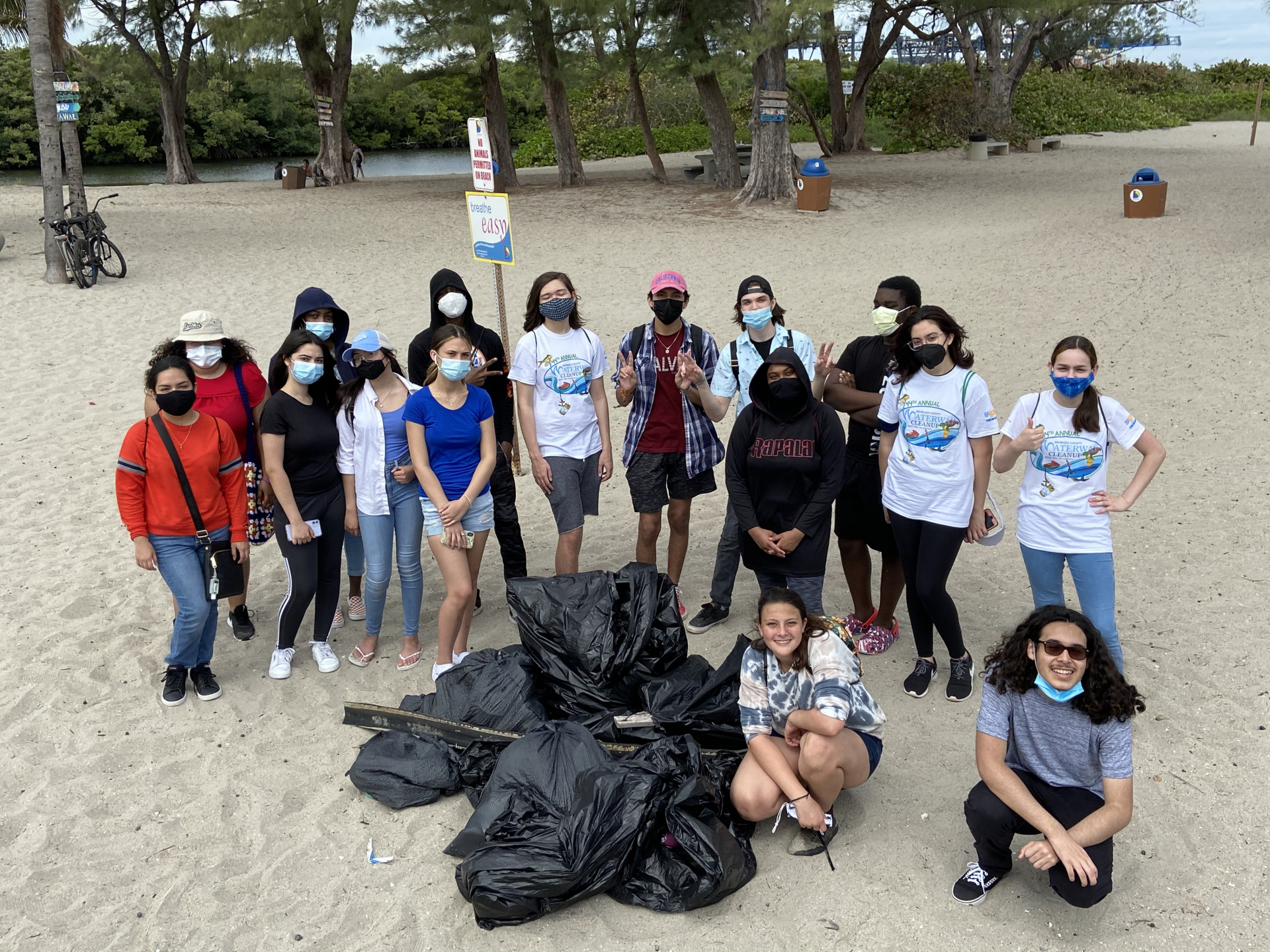 Past Event: 44th Annual Broward County Waterway Cleanup