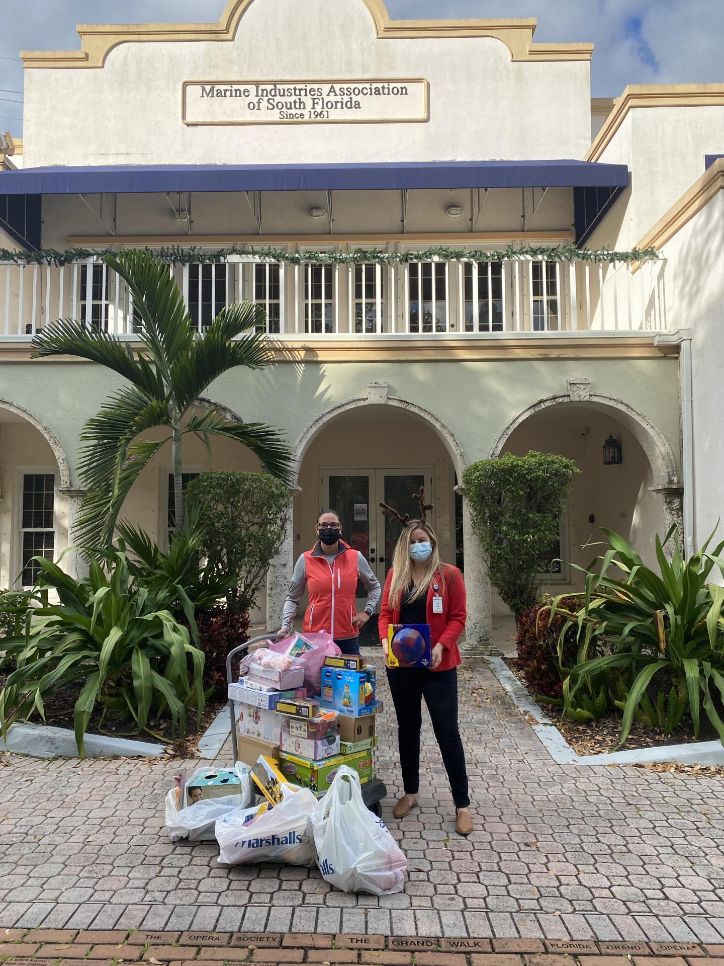 Marine Industry Annual Toy Drive
